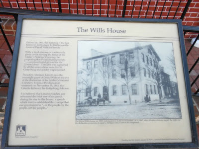 The Historic David Wills House in Gettysburg