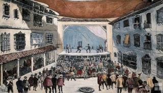 Corral de comedias del siglo XVII