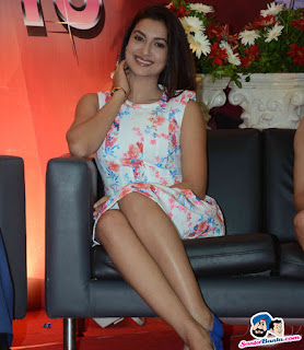 Gauhar Khan Sexy Legs On Couch
