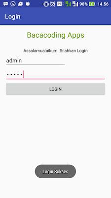Cara Mudah Membuat Aplikasi Login Tanpa Database