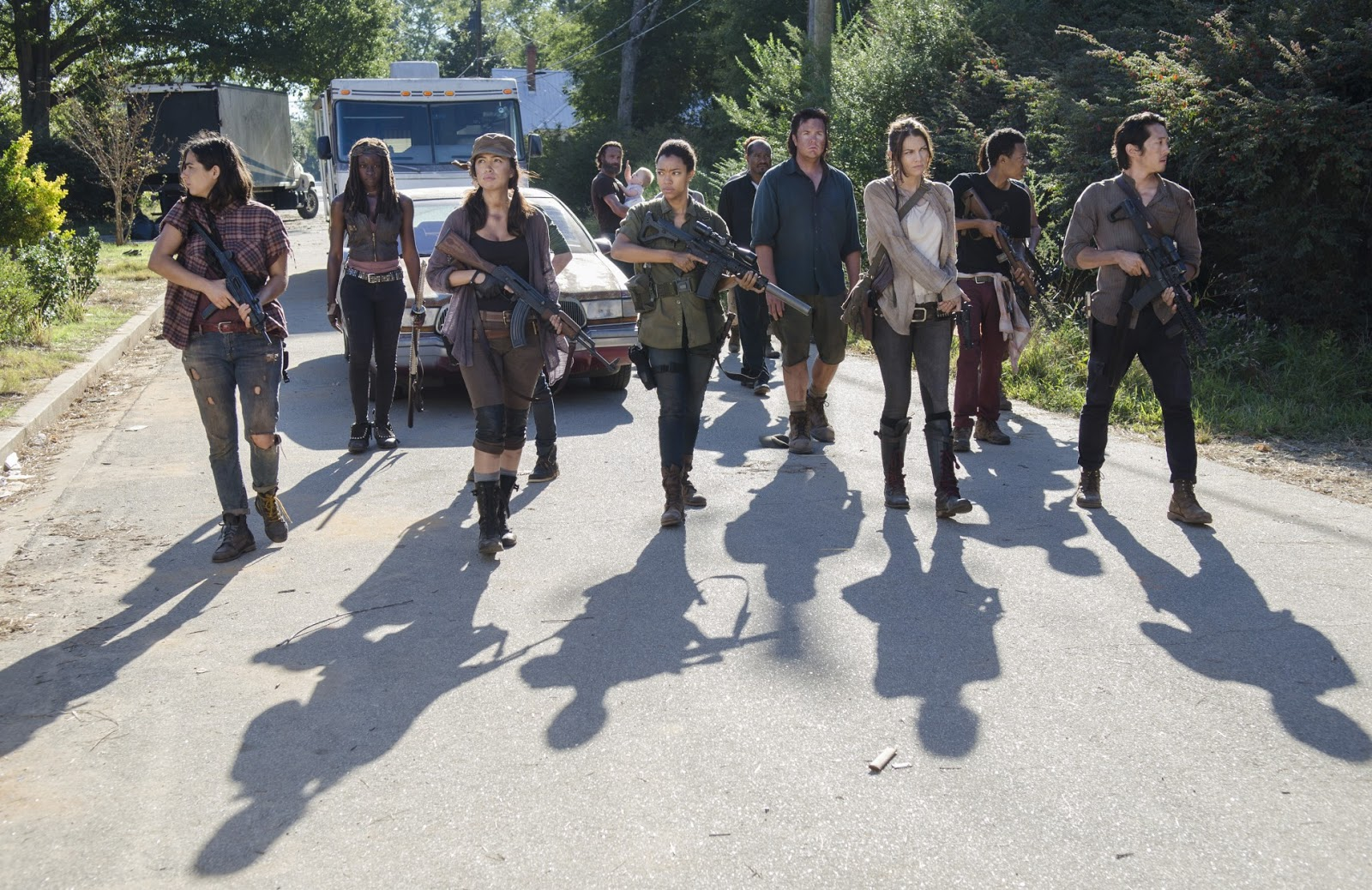 Image from the walking dead