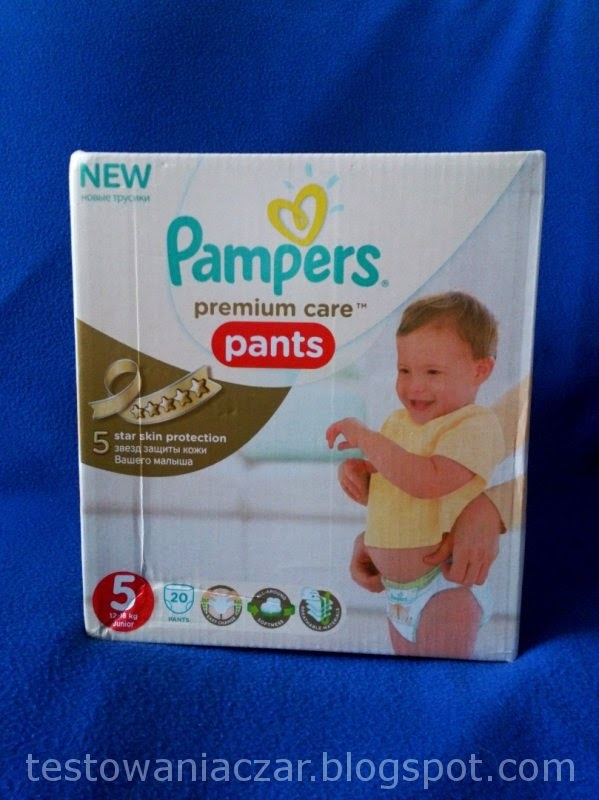 Pampers premium care pants - testowanie z ofeminin.