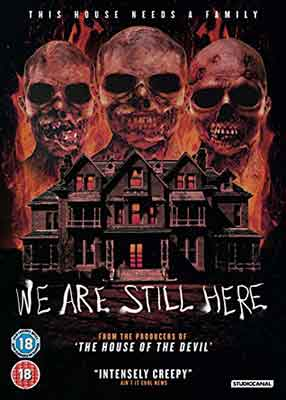 We are still here, Carátula DVD UK