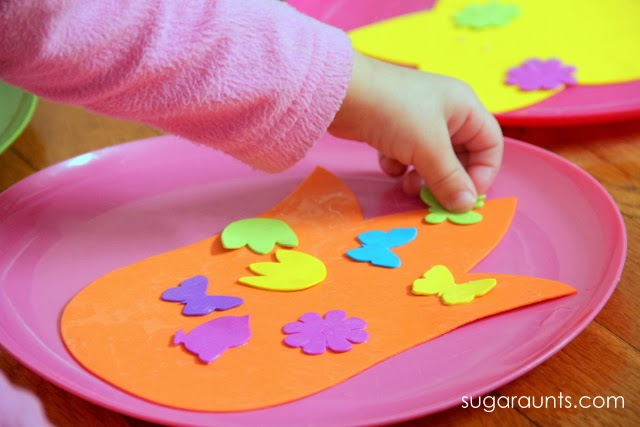 This is a perfect activity for a Spring play date.