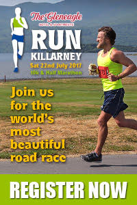 Annual Run Killarney Half-Marathon & 10k... Sat 22nd July 2017