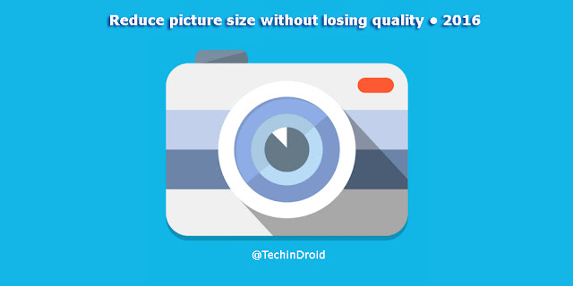 How to compress or reduce picture size without losing quality?