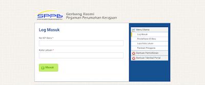 Permohonan Pinjaman Perumahan Kerajaan LPPSA Online