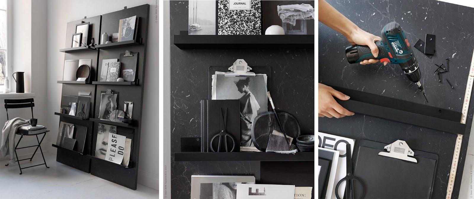 Fai Da Te: Portariviste Facile Da Realizzare Con Mensole Ikea