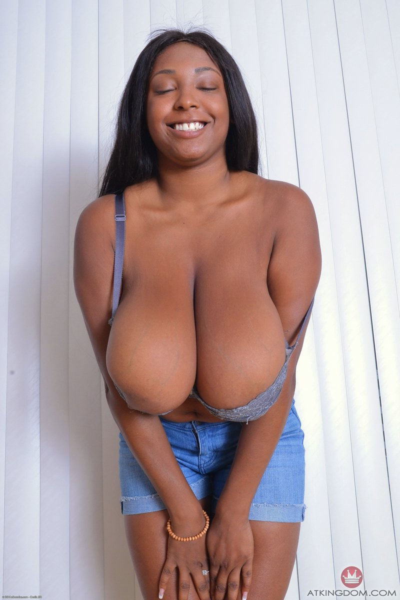 Big Natural Tits Black