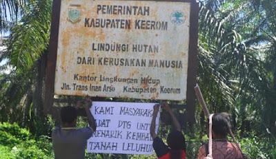 Masyarakat Adat Persoalkan tanah yang Ditempati Transmigran di Keerom