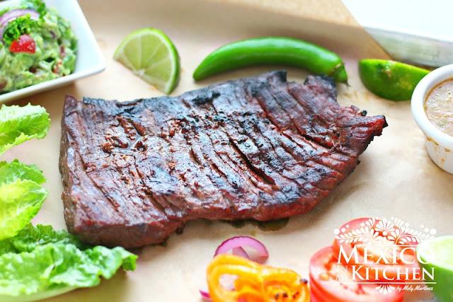 Carne Asada recipe, Mexican Style