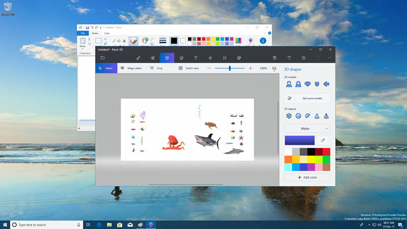 Paint 3D app is going to replace the classic MS Paint from Windows 10 soon