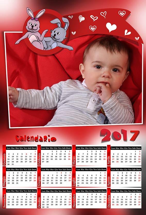 Favori risorse per photoshop: Anteprima calendari 2017 DV26