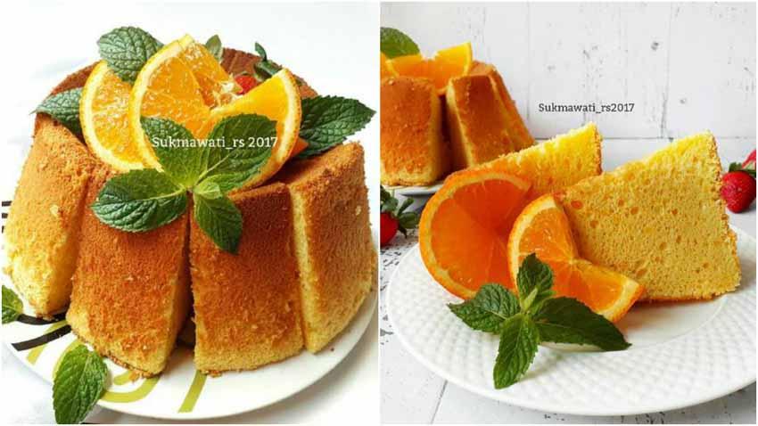 Resep Orange Chiffon Cake