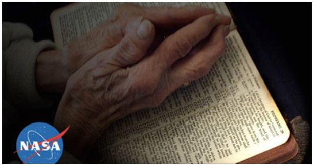Resultado de imagem para A NASA descobriu que tudo o que diz a Bíblia é REAL