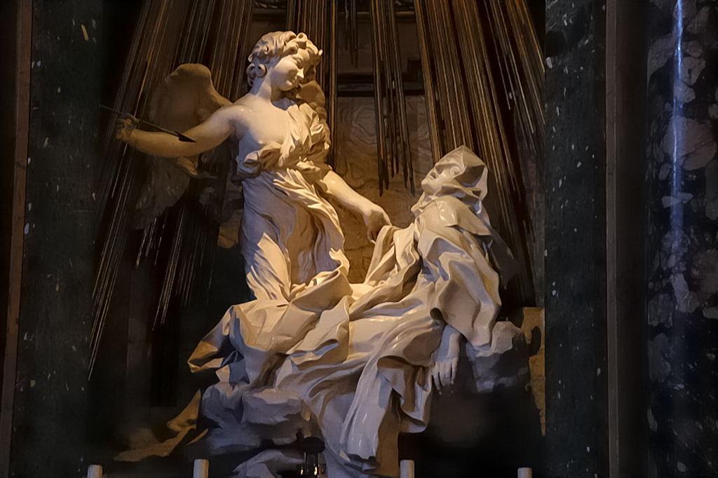 BERNINI      Bernini St Teresa Painting