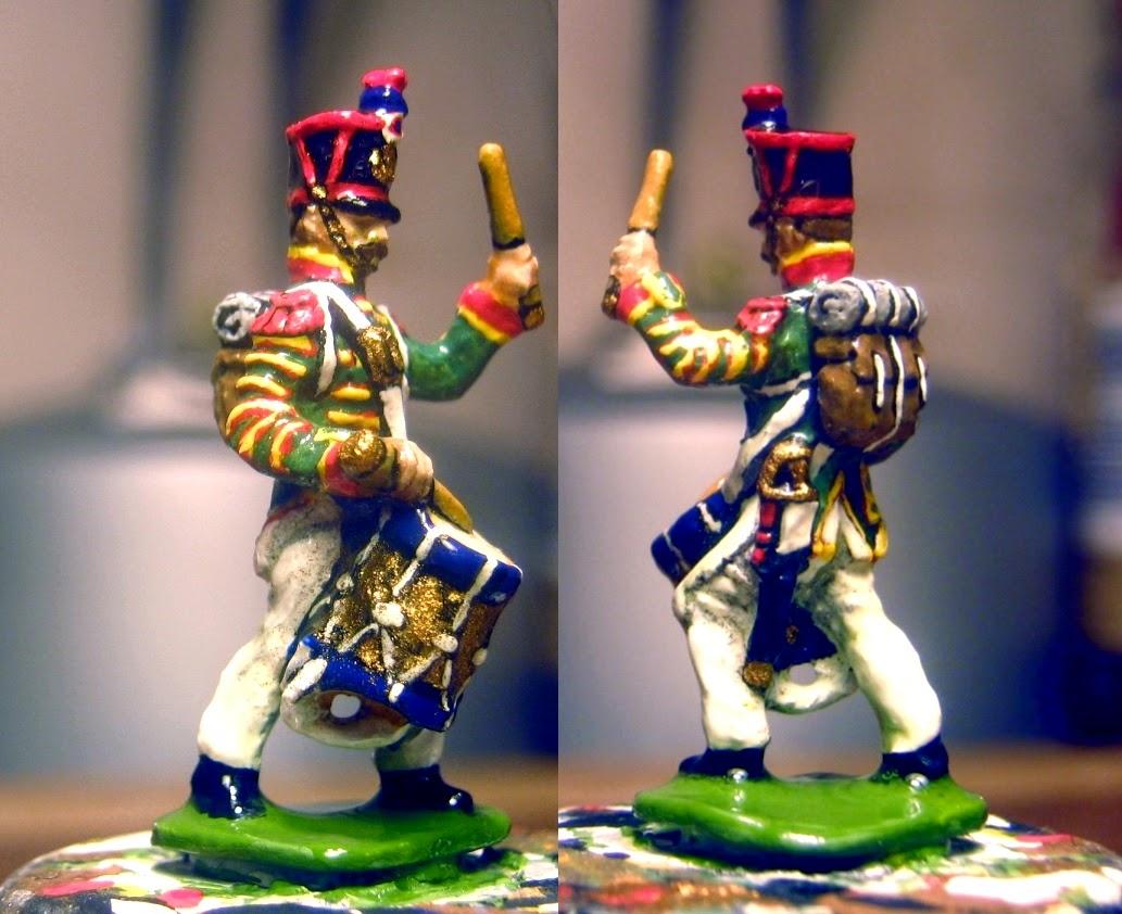 Der Kriegspielers DK 13 French Line Infantry Drummer