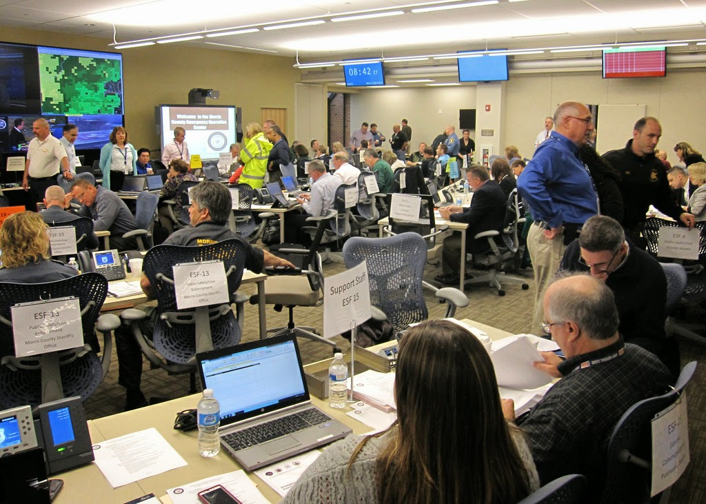 Morris Conducts Successful Hurricane Preparedness Exercise