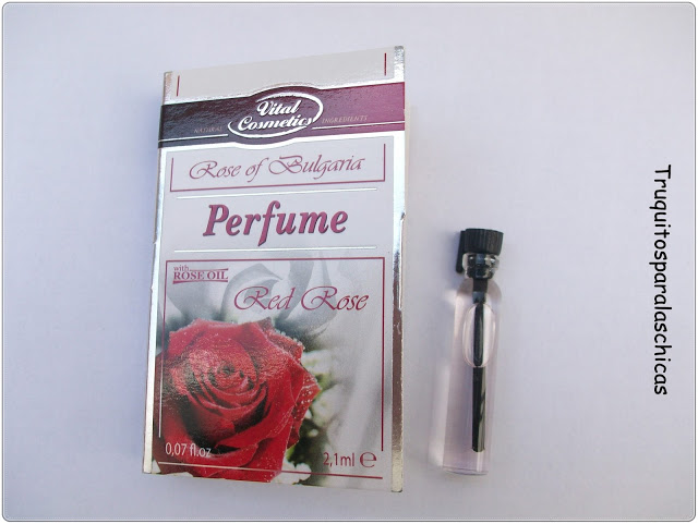 Perfume red rose