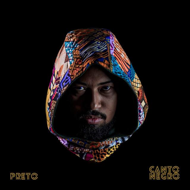 """O rapper PRETO anuncia a data de lançamento do """"O álbum Canto Negro"""""""