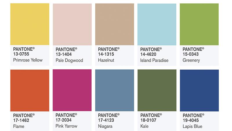 цвета Pantom