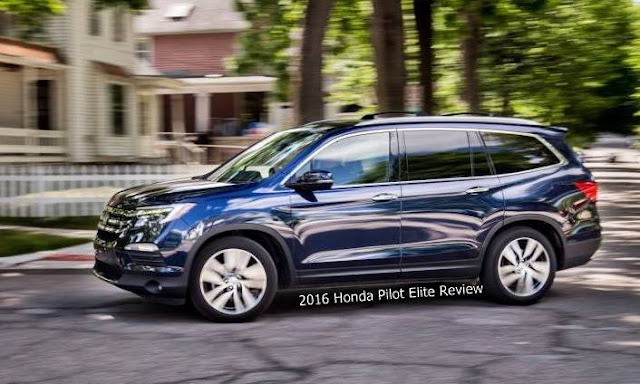 2016 Honda Pilot Elite Review