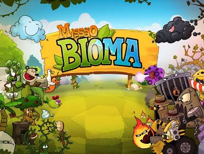 "bioma-620 Missão Bioma é a ""versão nacional"" de Plants vs Zombies"