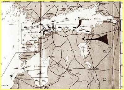 Plan ruso de invasión de Estonia durante la Segunda Guerra Mundial