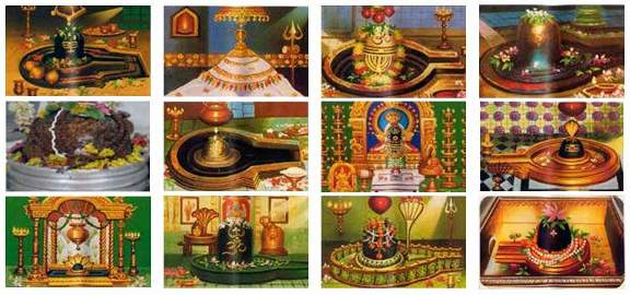 12 Jyotirlinga Images
