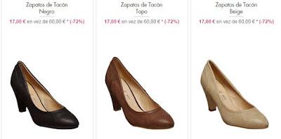 Zapatos tacón Suredelle