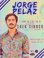 Concierto de Jorge Pelaz en Siroco