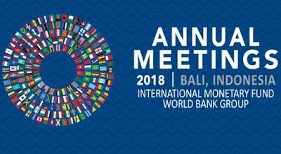 Ini Yang Akan Dibahas Pada Pertemuan Tahunan IMF-WB 2018