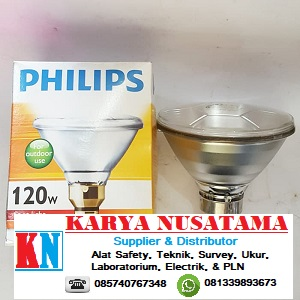 Jual Lampu Untuk Taman PAR 38 120 WATT PHILIPS di Makasar