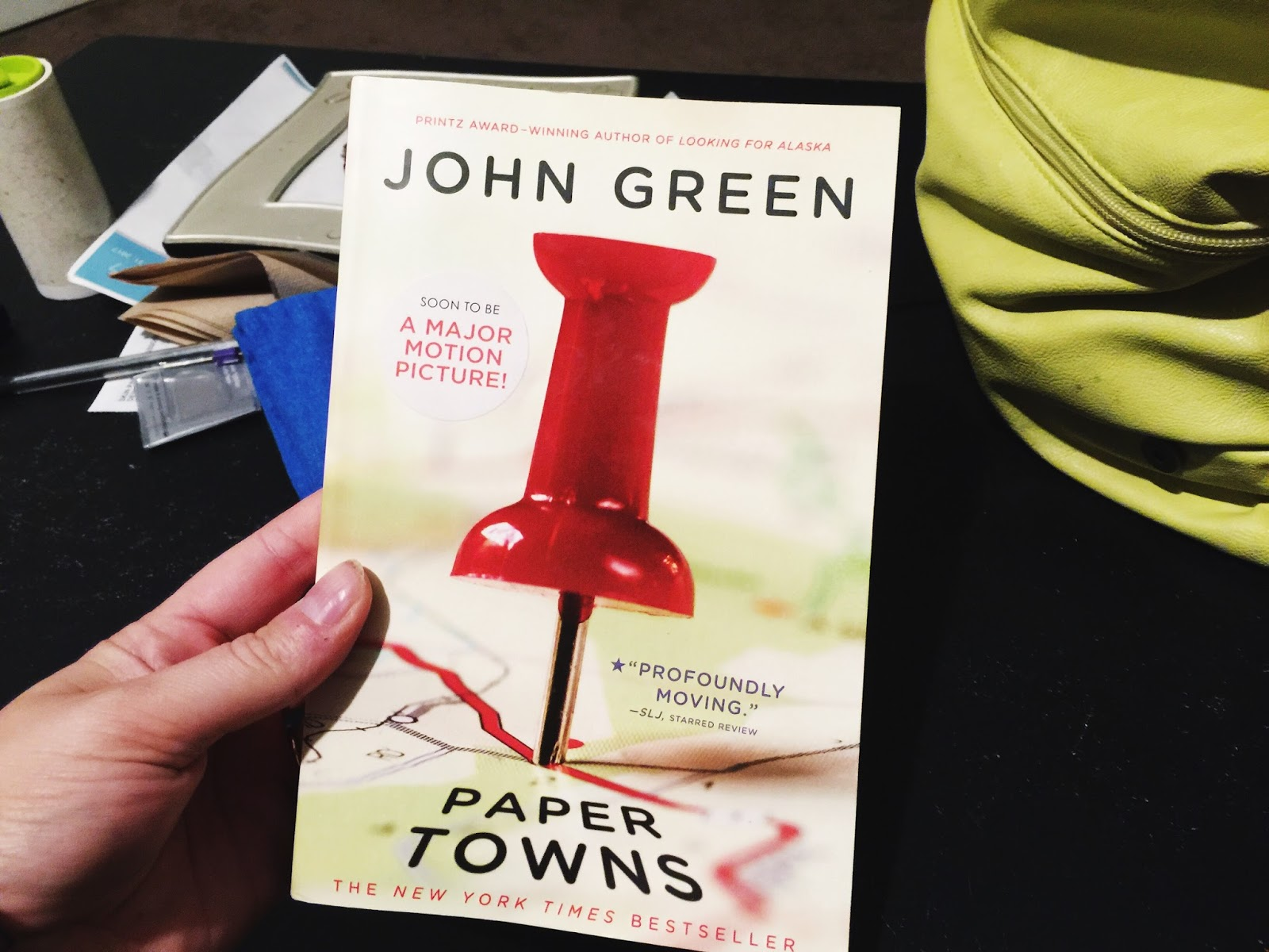Paper towns by john green review