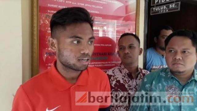 Saddil Ramdani Ditahan Polisi gegara Aniaya Kekasih