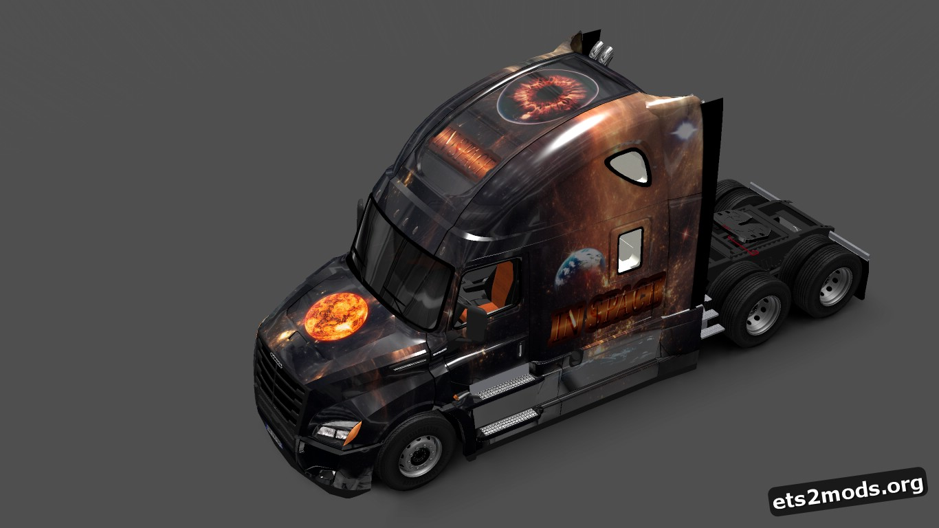 In Space Skin for Cascadia 2018