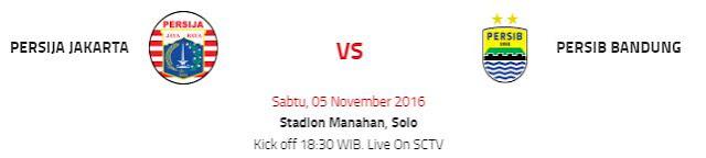 Head to Head Persija vs Persib Bandung