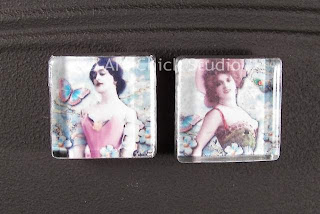 Gypsy Glass Tile Magnets 1