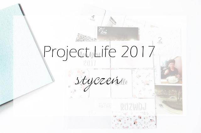 Project life 2017 - styczeń