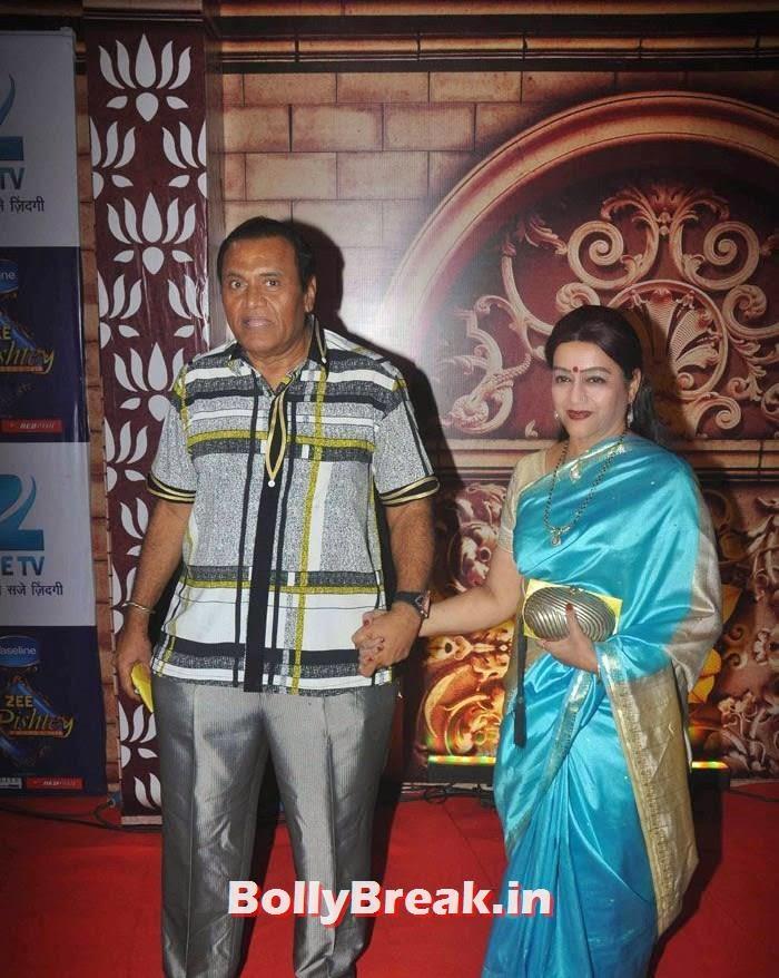 Jayprakash Karnataki, Jayshree Talpade, Zee Rishtey Awards 2014 Photo Gallery