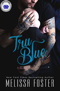 romance novel cover, contemporary romance, Tru Blue by Melissa Foster
