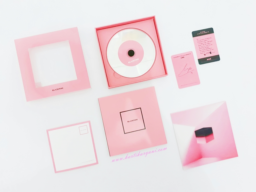 blackpink squareup pink version