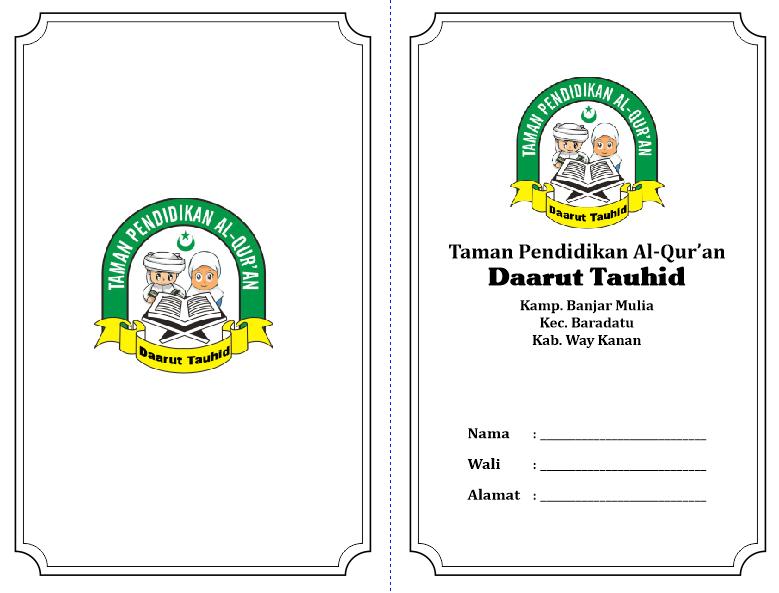 Download Contoh Desain Kartu SPP TPA