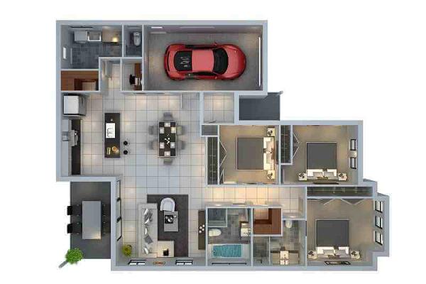 Denah Rumah Minimalis 1 Lantai 3 Kamar Tidur Dan Garasi Info Paguntaka