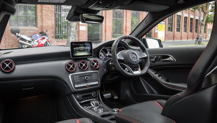 2018 Mercedesamg a45 Black Series Performance  Fastest Mercedes