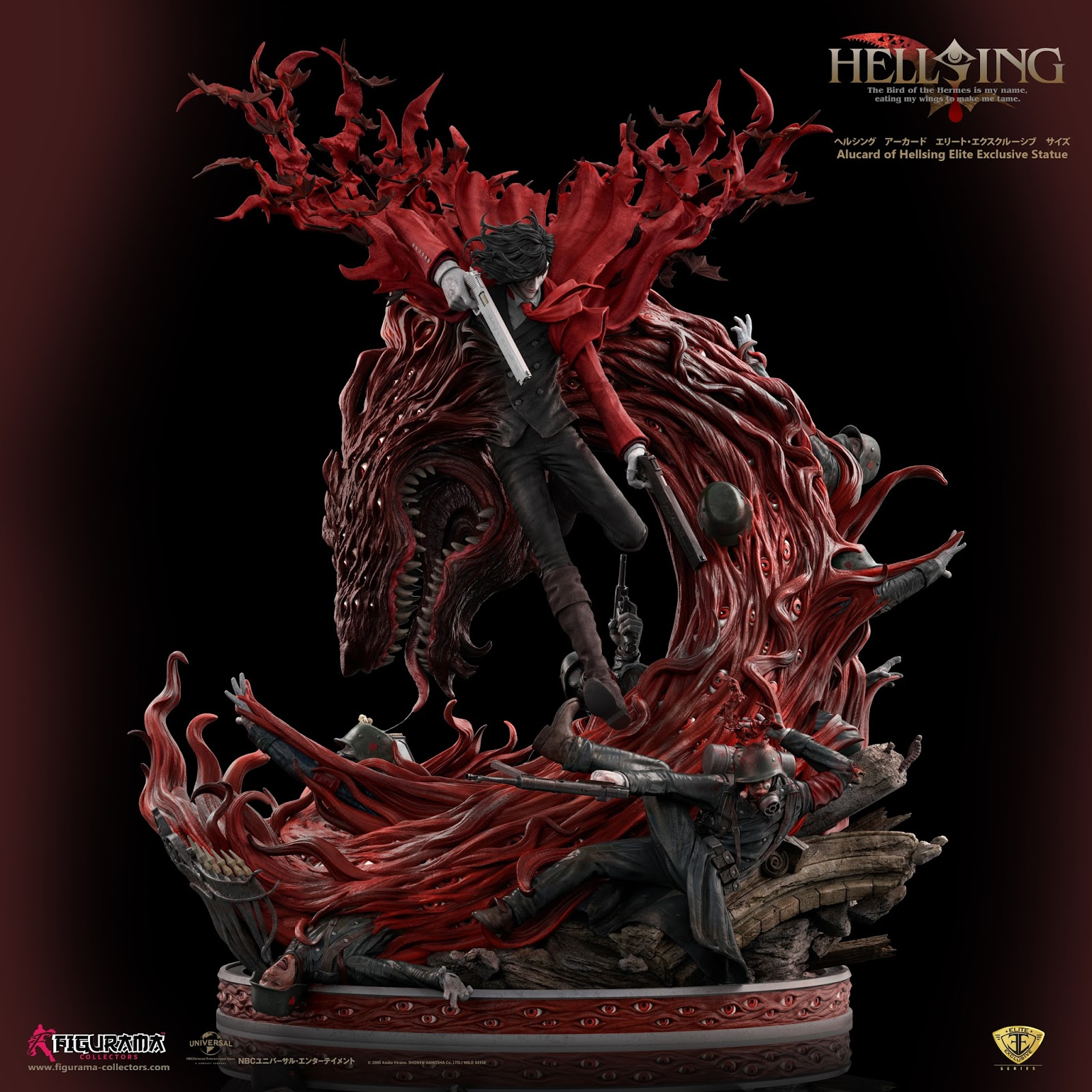 Hellsing Ultimate - Alucard Elite Exclusive statue (Figurama Collectors)