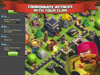 تحميل لعبة fhx clash of clans