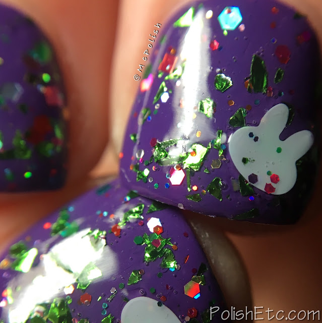 Whimsical Ideas by Pam - Spring 2018 - McPolish - Cute Buns