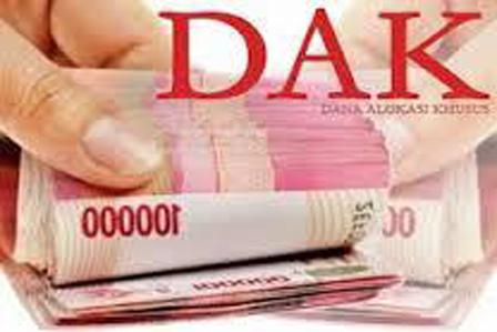 Pemkab Salurkan DAK Rp22,503 Miliar Lebih