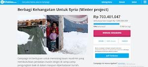 Cara Donasi Di Kitabisa.com: Winter Project Syria